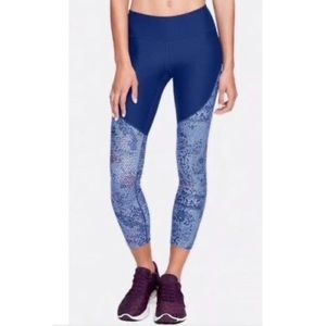 Under Armour Vanish Cropped Leggings S EUC